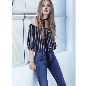 FAITHFULL THE BRAND STRIPE TOP